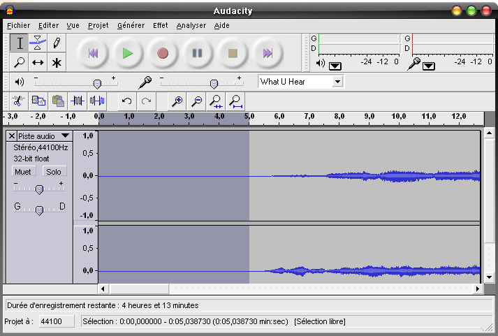 How to create sound files (english)